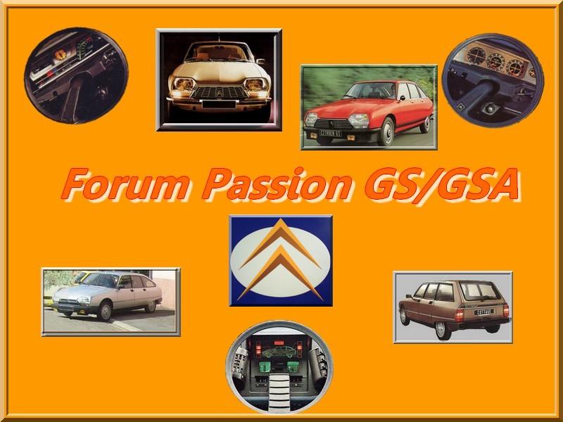 Passion GS/GSA Index du Forum