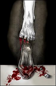 Escarpin sanglant