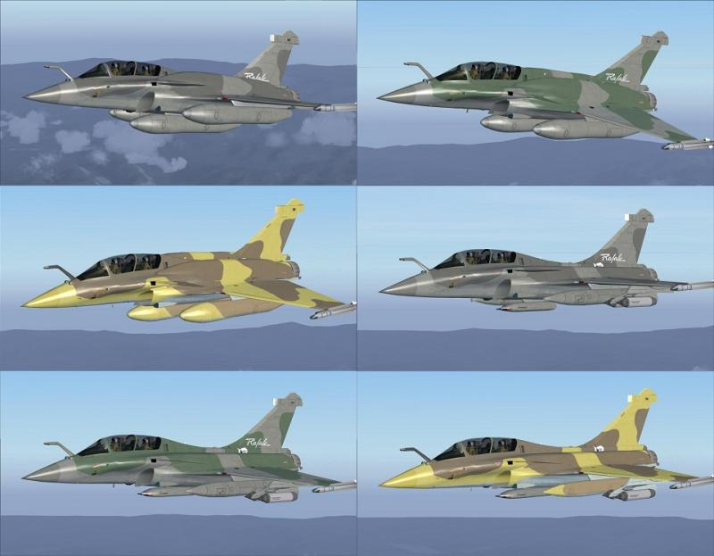 Rafale B Pack Export